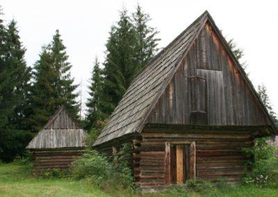 two shepherd hut